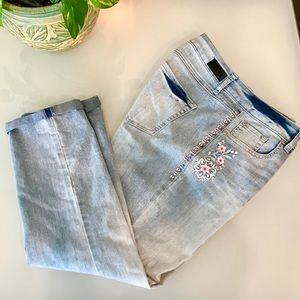 Sound Style Embroidered Jeans
